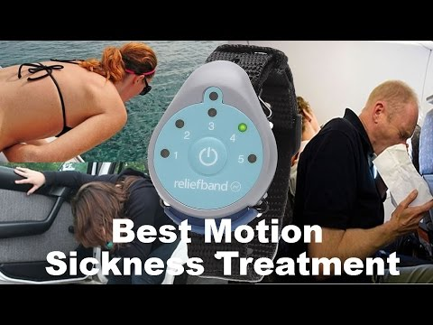 Best Motion Sickness Treatment - Relief Band