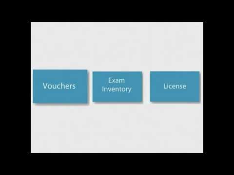 exam vouchers,inventory,and licenses