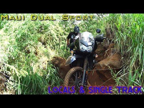 Maui Dual Sport  -Day 1- Locals & Single Track