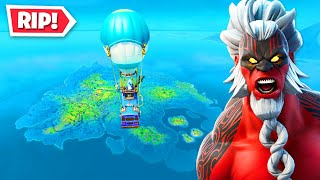 *NEW* MAP FLOODED EVENT in Fortnite! (END OF SEASON)