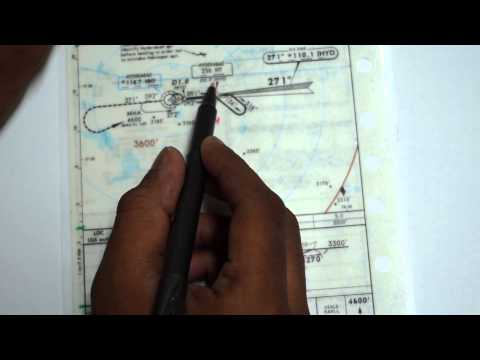 Instrument Flying - 4 (Approach Chart Briefing)