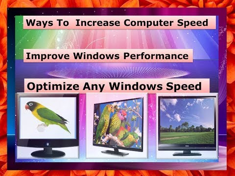 Ways To Increase Computer Speed  2018 | Improve  Speed Any windows