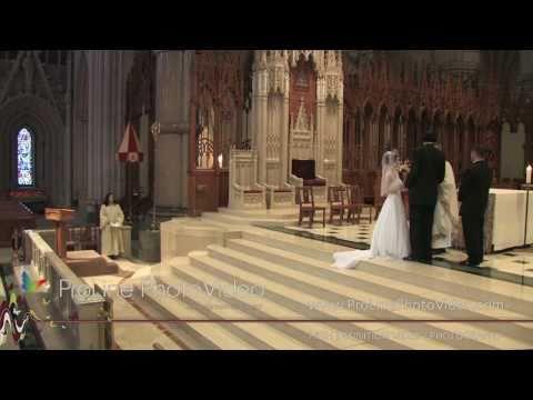 Wedding Ceremony at Basilica of the Sacred Heart Church, Newark NJ (Kelly and John)