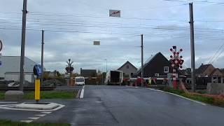 Spoorwegovergang Olsene (Zulte)/ Passage a Niveau/ Railroad-/ Level Crossing/ Bahnübergang