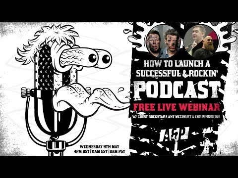 HOW TO LAUNCH A SUCCESSFUL & ROCKIN' PODCAST