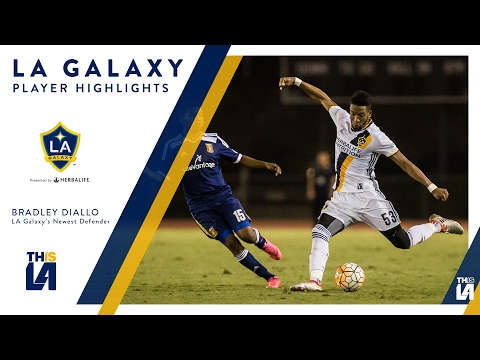 LA Galaxy sign defender Bradley Diallo to first team contract