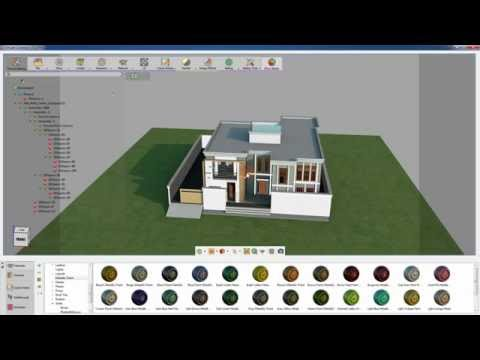 Sketchup texture baking with SimLab Composer