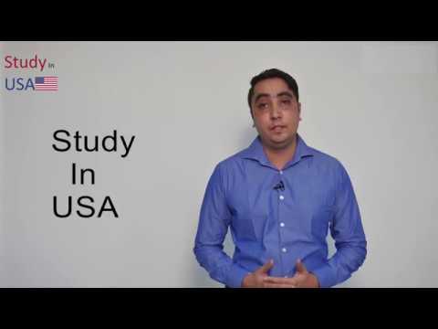 Study in USA (Admission & Visa Process)