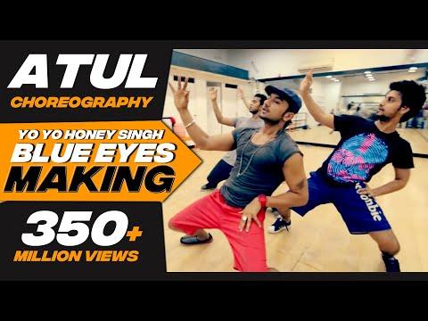 Big Dance Centre I Atul & Karan choreography I Blue Eyes songs rehearsal with Honey Singh.