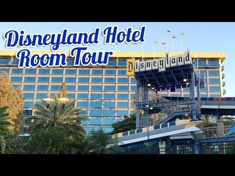 DISNEYLAND HOTEL Room Tour   BookishPrincess