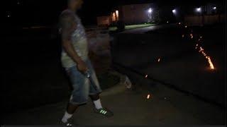 FIREWORKS AND GUNSHOTS  (GONE WRONG)!!!