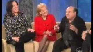 """Hard Drinking Devito Bashes Bush on """"The View"""""""