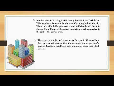 Where to buy high demand of properties in Chennai