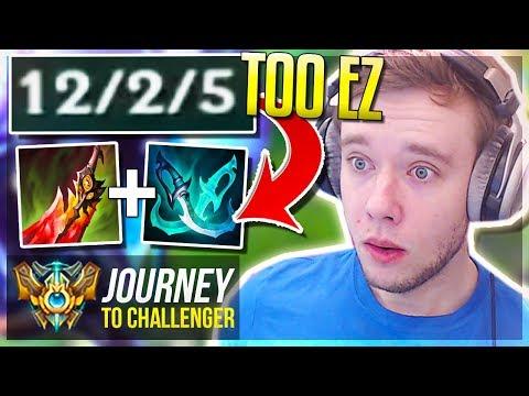 THIS BUILD IS SO FREELO ON THIS CHAMPION! NEW ONE-TRICK? - Journey To Challenger | League of Legends