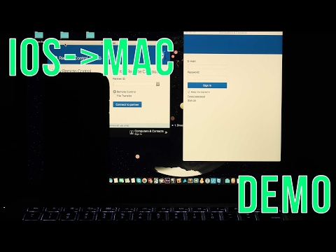 How to Control Your Mac Computer from Another Device (Android/iOS/Mac/Windows) - Remote Access Demo