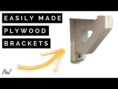 How to Make Plywood Brackets