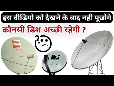 Types Of Satellite Dish Antenna | Satellite Dish Antenna Explained|Ku/C Band Satellite Dish Antenna