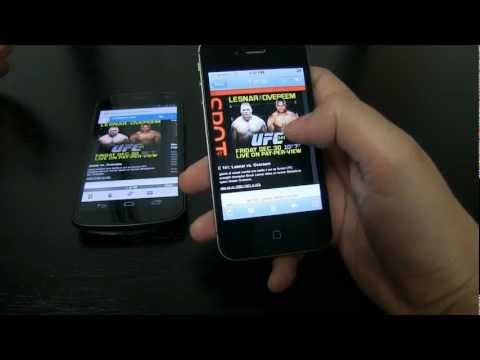 Android Nexus 4 Vs Apple iPhone 5 Review Part 1