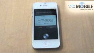 How To Use Siri On The Iphone 4s
