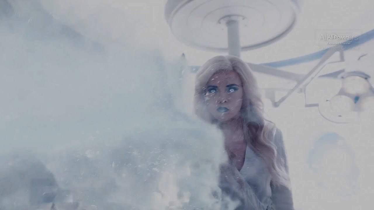 Killer Frost- All Powers from The Flash S3
