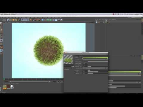 Cinema 4D Tutorial -  How to Create Great-looking Grass