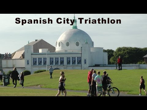 Spanish City Triathlon 2015 (swim, bike and run)