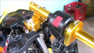 DIY Gear Shift Indicator Kawasaki Fury Motorcycle - PakVim