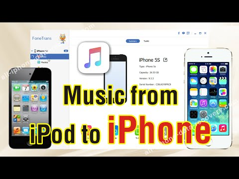 How to Copy Music from iPod to iPhone 7/6S Plus/6S  Freely