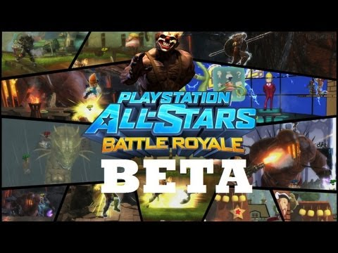 Playstation All Stars Battle Royale Beta Up Now At The PS Store