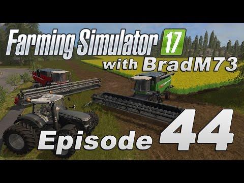 Farming Simulator 17 - Let's Play! - Episode 44 - Huge Canola Harvest!!