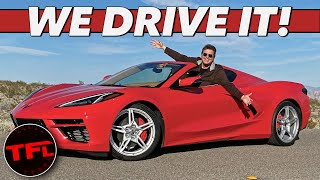 The 2020 Chevy C8 Corvette Stingray Goes From 0-60 MPH How Fast!? First Drive Review
