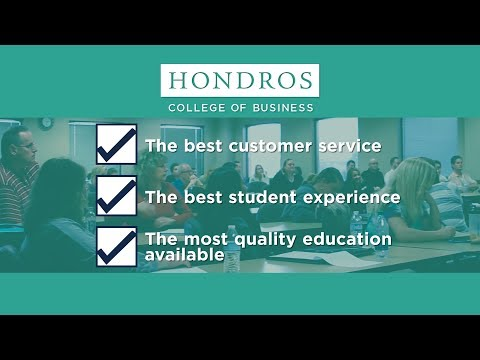 Hondros College of Business offers the highest quality courses for Ohio real estate online courses