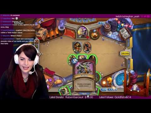 New Hearthstone Player. Build your worst deck and come challenge me! (Streaming to 4 platforms!)