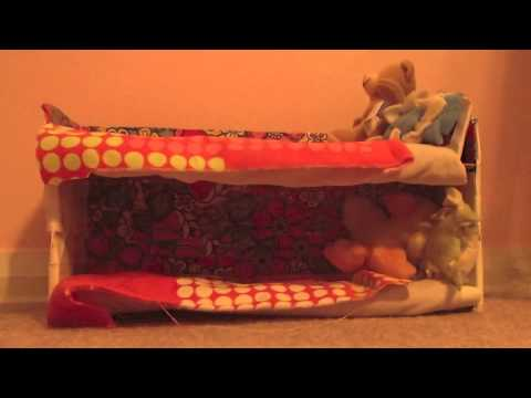 How to Make a Doll Bunk Bed - EASY AS PIE