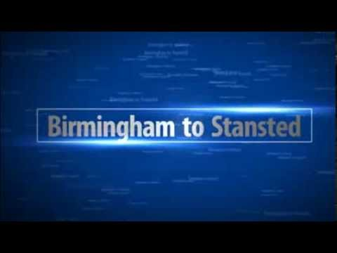 Taxi from Birmingham to Stansted