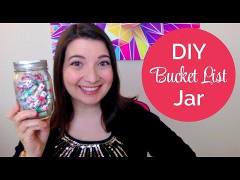 DIY Bucket List Jar