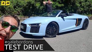 Audi R8 Spyder   Come suona il V10!