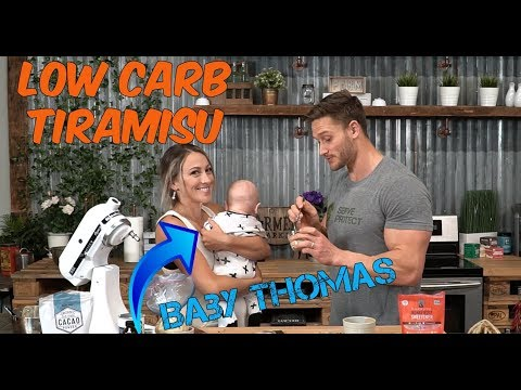 Science Kitchen: Low Carb Tiramisu (a funny side of Thomas DeLauer)