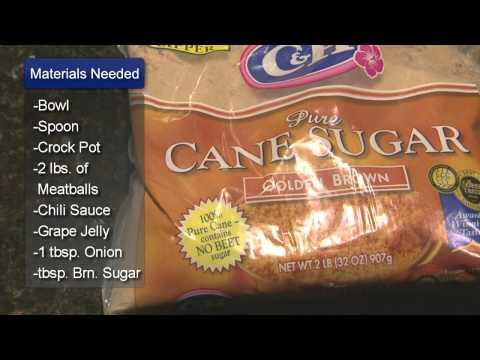 Sweet Meatball Recipe