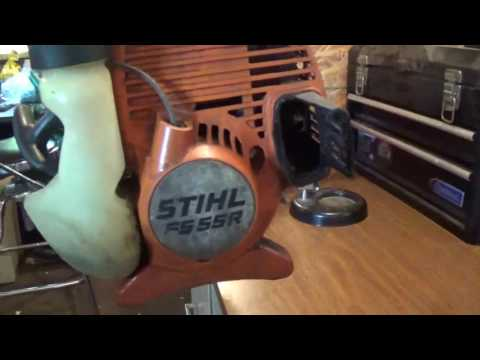 .Why your Stihl trimmer wont run .....What to look for....Part 1