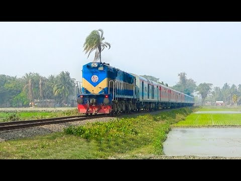 Bandhan Express  |  Colorful, Classic, Luxury & Modern Train | WDM-3A ALCo Diesels | Indian Railways