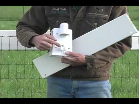 Horse fencing made safer with Equi-Tee's vinyl board mount.