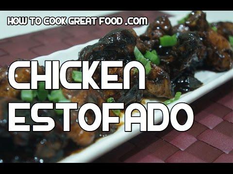 Paano magluto Chicken Estofado Recipe - Tagalog Pinoy Cooking Filipino