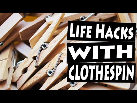 Best Life Hacks with CLOTHESPIN for the Whole Family