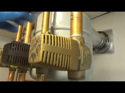 boiler not heating hot water tank