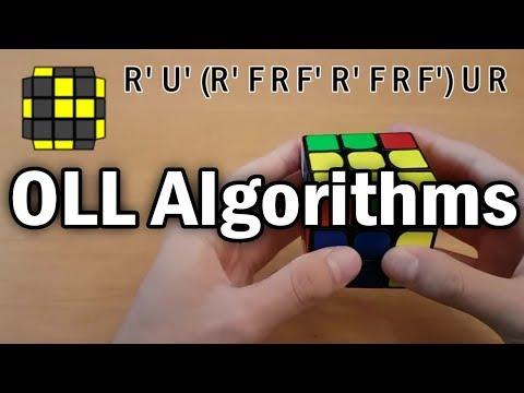 Rubik's Cube OLL Algorithms & Finger Tricks!