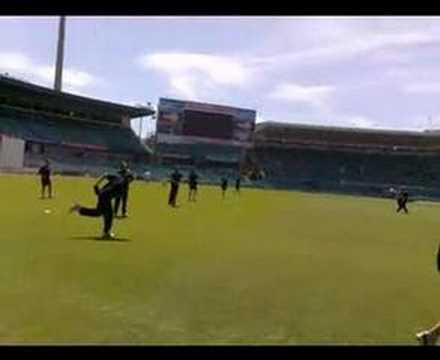 Australian Cricket Team training