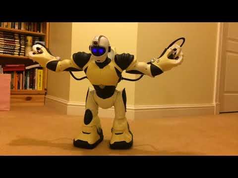 Fixing Wowwee Robotics RSV2 Robosapien V2 Part 11 - He Gets Up