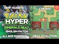 Download  Pokemon Hyper Emerald Real v3.0 (English Patched) GBA with Mega Evolution, Z Moves u0026 Much More! MP3,3GP,MP4