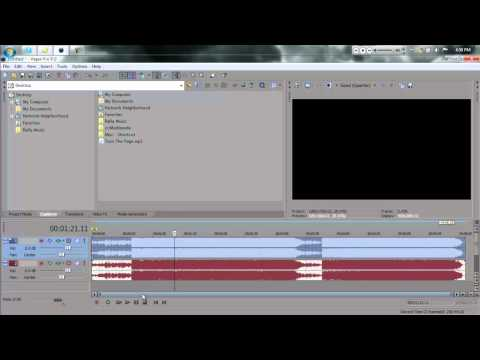 Sony Vegas | How to Remove Vocals From Songs